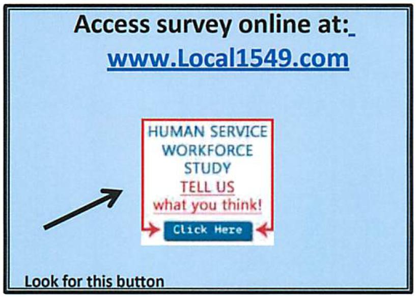 Human Services Survey Button