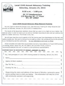 L1549 Advocacy Training Flyer 1 24 15