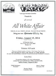 All White Affair 2014