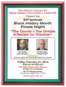 Black History Flyer 2015