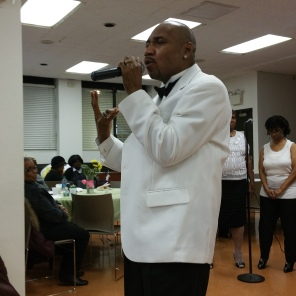 Avery Seawright joins choral group in singing 'Glory'