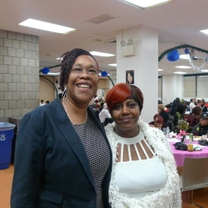 Chapter Chair Esther Toussaint and Officer-at-Large Janice Haley