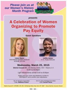 Women's History Month Flyer 3 25 15
