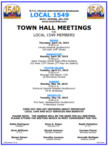 town hall meeting flyer 2015